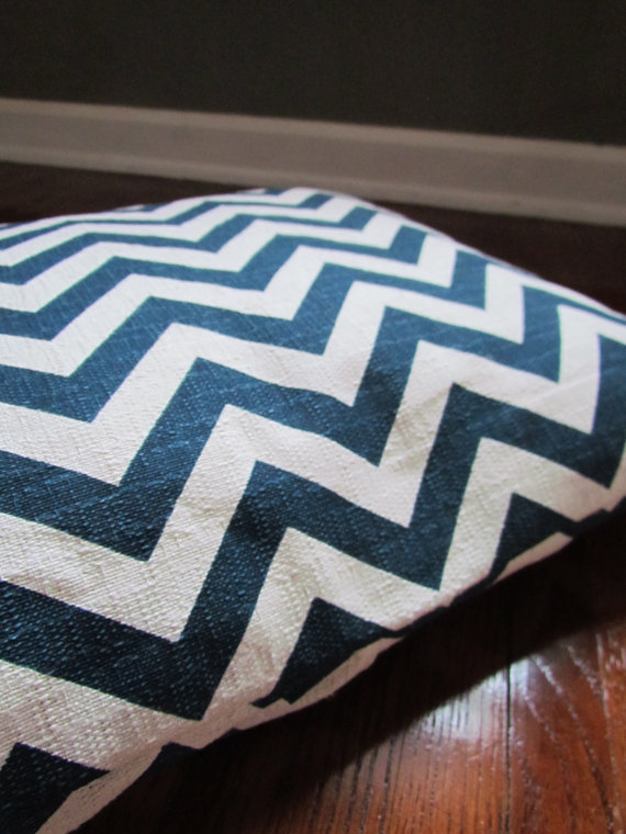 Chevron Dog Duvet Cover (washable)  Via The Olive Crow on Etsy.com