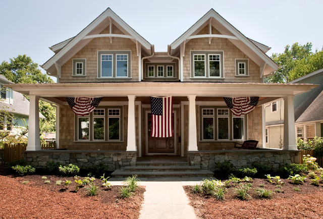 Traditional American Via Christian Gladu Design