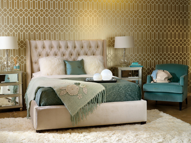 The cohesion of textures and colors bring a rich timeless feel VIA High Fashion Home