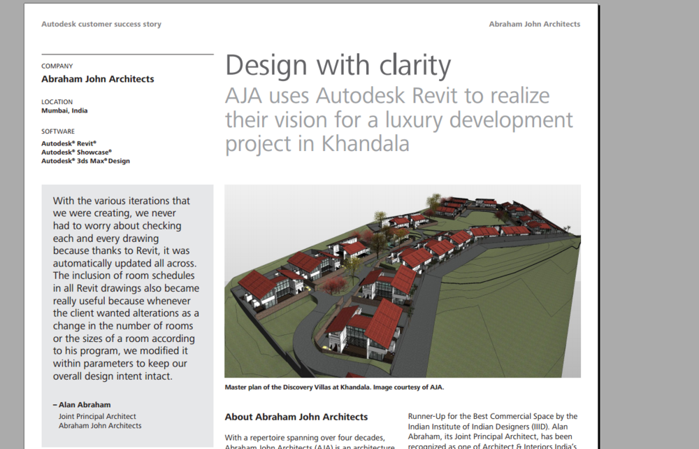AUTODESK CUSTOMER SUCCESS STORY Download Story