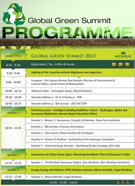 GLOBAL GREEN SUMMIT 2013