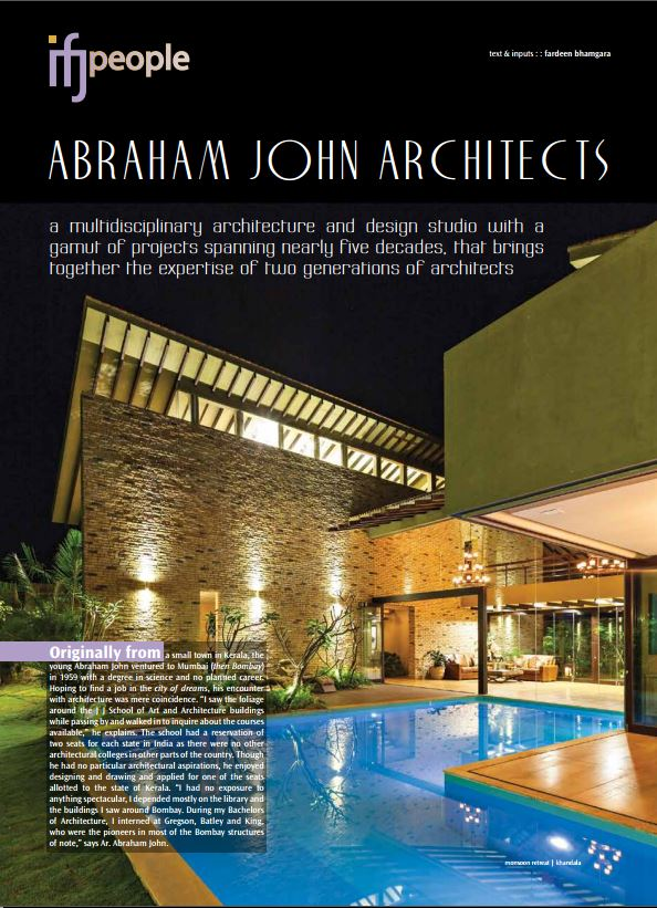 IFJ - Architect's Profile March 2014