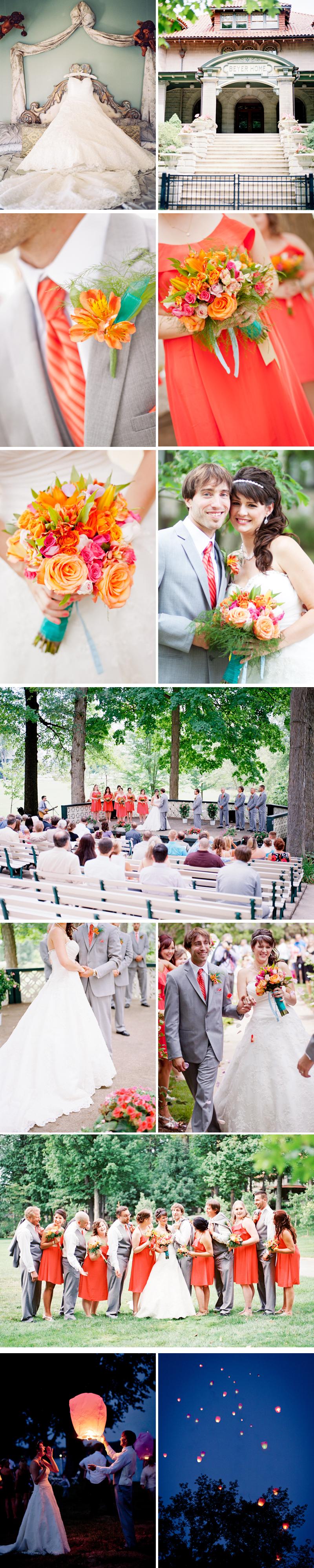 Winona Lake IN Outdoor Wedding, by Naomi & Sam Karth www.thekarths.com