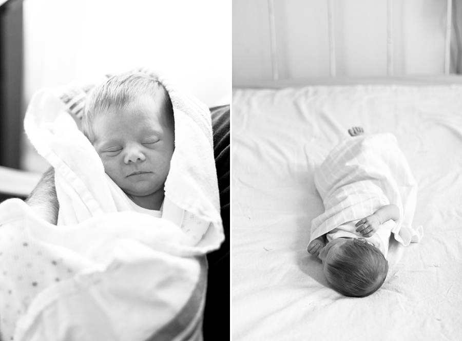 Newborn Lifestyle Photography by Warsaw IN Photographer Naomi Karth, www.thekarths.com