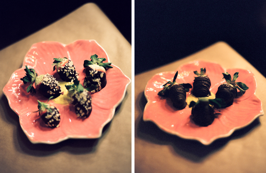Chocolate Dipped Strawberries Tutorial by Warsaw IN Wedding Photographers Naomi & Sam Karth www.thekarths.com