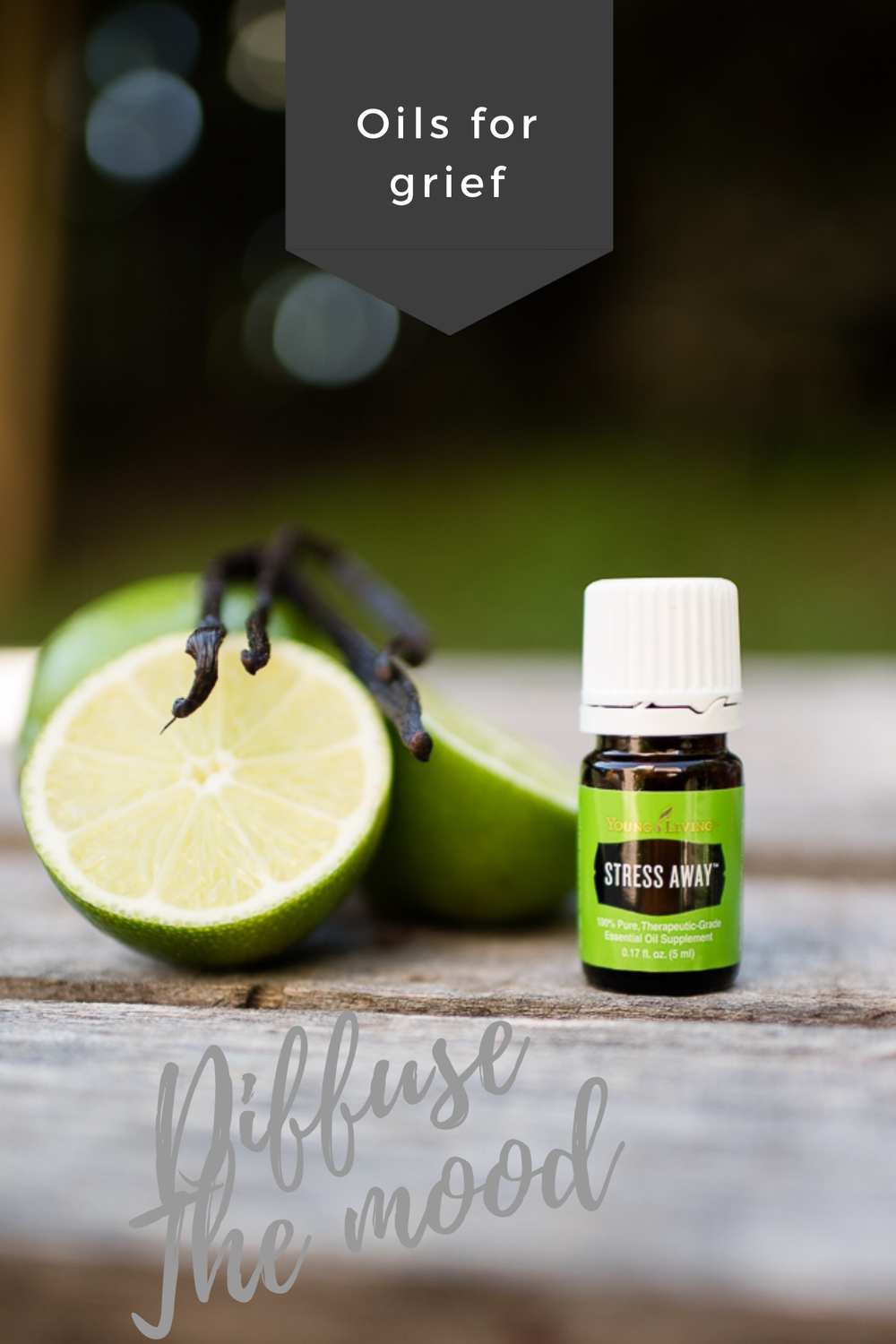Essential Oils for Grief- Stress Away is an amazing blend for releasing stress and anger.  Karth Scents, Naomi & Samuel Karth, Warsaw IN Young Living Essential Oils