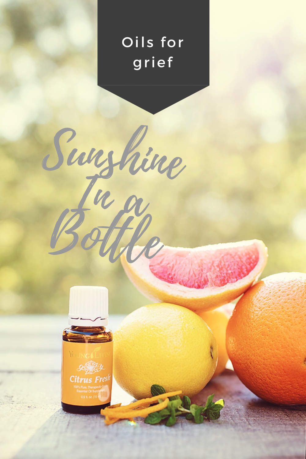 Essential Oils for Grief- Citrus Fresh is a blend known for its bright and cheery scent.   Karth Scents, Naomi & Samuel Karth, Warsaw IN Young Living Essential Oils