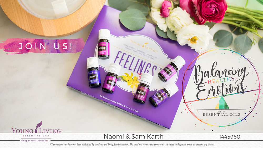The Feelings Kit from Young Living Naomi and Samuel Karth, Young Living Essential Oils