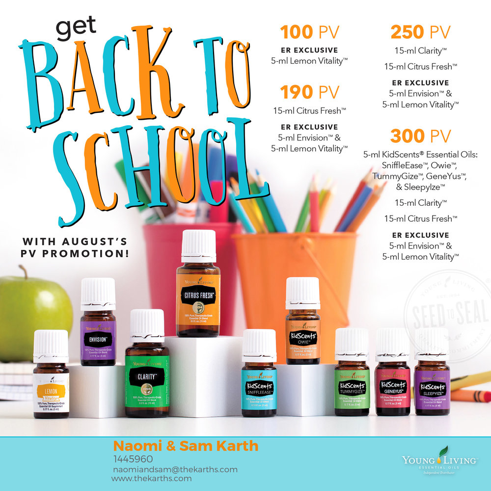 Learn about the rewards program from Young Living for free products and points! Naomi & Sam Karth, Young Living Distributors in Warsaw Indiana