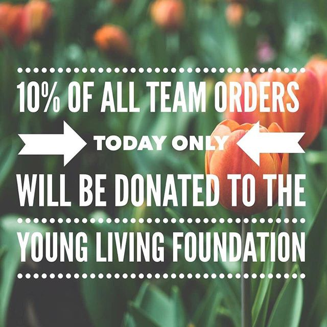 In honor of International day of street children, we are donating 10% of all quick orders on our team to the Young Living Foundation, to help the organization African Hearts continue to rescue street children in Uganda. You can also choose to roundup your order or make a donation today! #internationaldayofstreetchildren #younglivingfoundation #africanhearts
