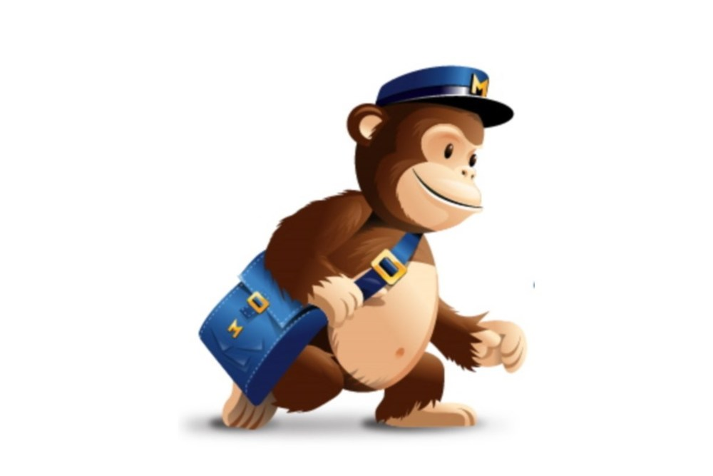 Mailchimp logo. Article about Getresponse and Mailchimp.