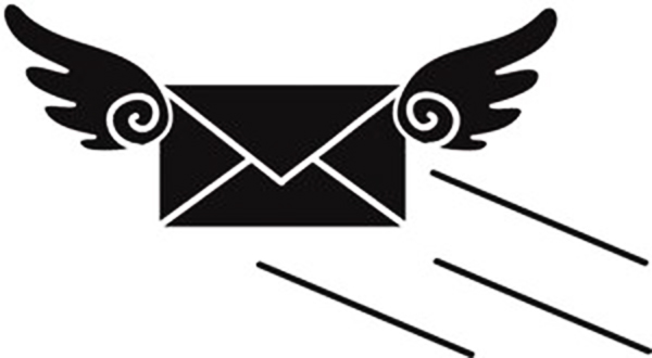 A flying envelope: article on how to create an e-newsletter
