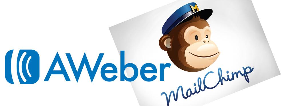 Mailchimp vs Aweber