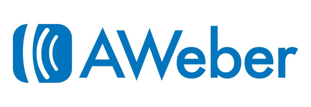 Aweber logo - image accompanying our Aweber review