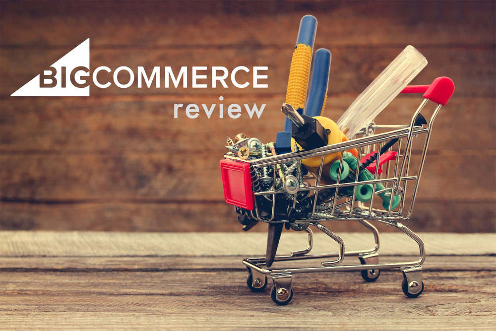 Bigcommerce review (image of a shopping trolley)