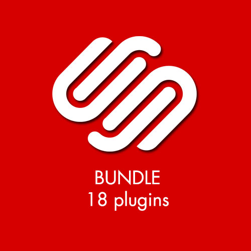 Squarespace plugin bundle