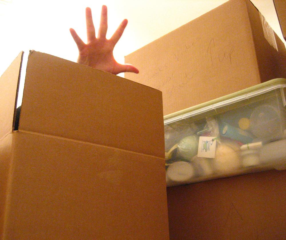 Away, clutter, away!