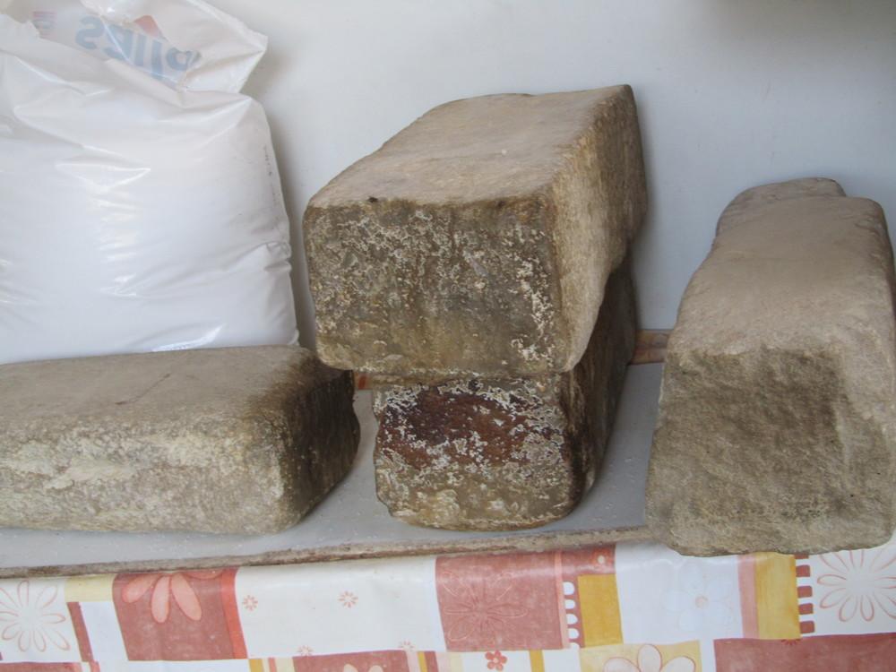 Halloumi stones