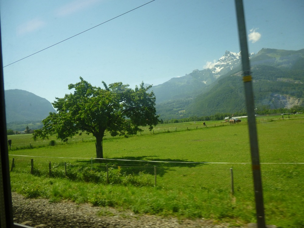 Somewhere between Montreux and Brig, Switzerland