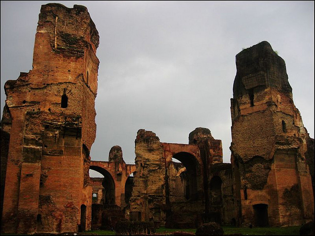Caracalla Baths, Rome   Image by Guillén Pérez
