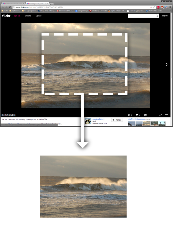 """Cut Inverse"" - gets rid of the unnecessary parts of your screenshots."