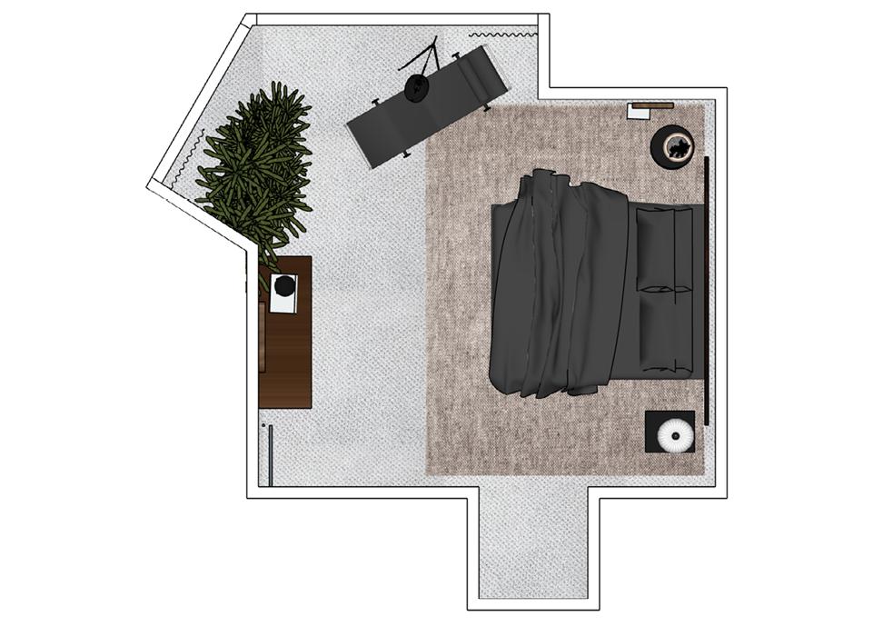 Master Bedroom FP