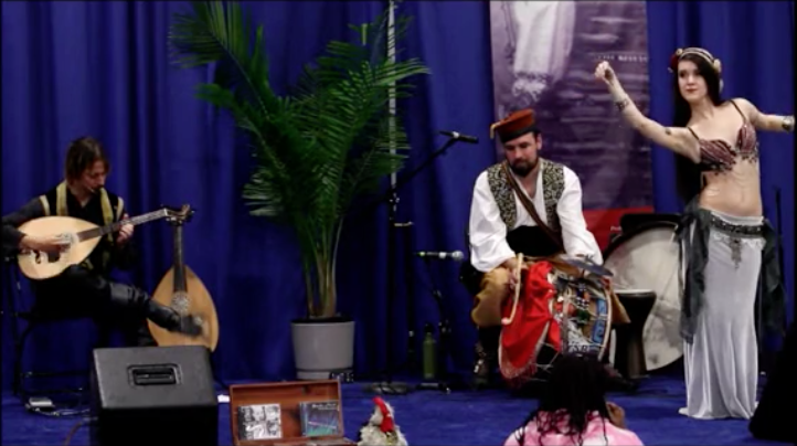 Milwaukee Holiday Folk Fair   International 2012 (featuring Rana Regina)