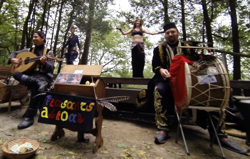 Stronghold Olde English Faire 2015 - Circle of Pines (featuring Shana & La Bella Luna)