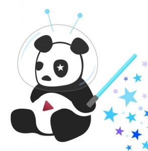 Cosmic Panda logo