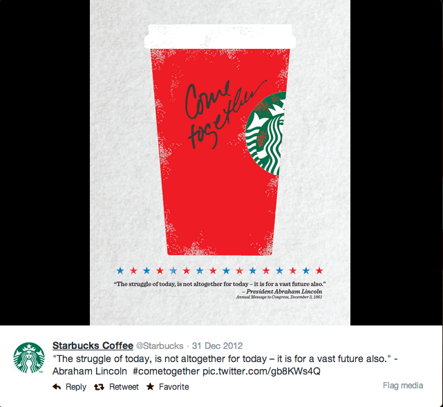 Image Source -  Starbucks Twitter Account