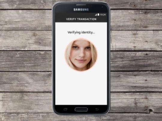 MasterCard 'Selfie' online payments