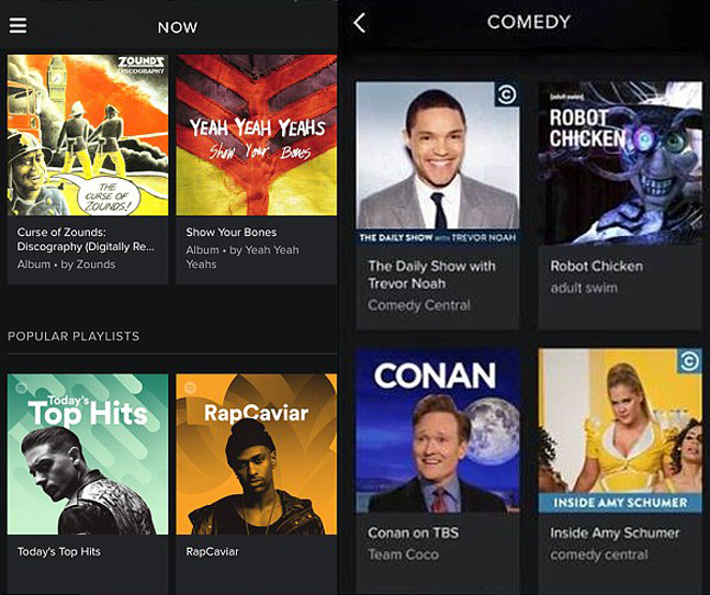 Comedy Central on Spotify