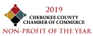 The Service League is proud to be the 2019 Cherokee County Chamber of Commerce Non-profit of the Year.