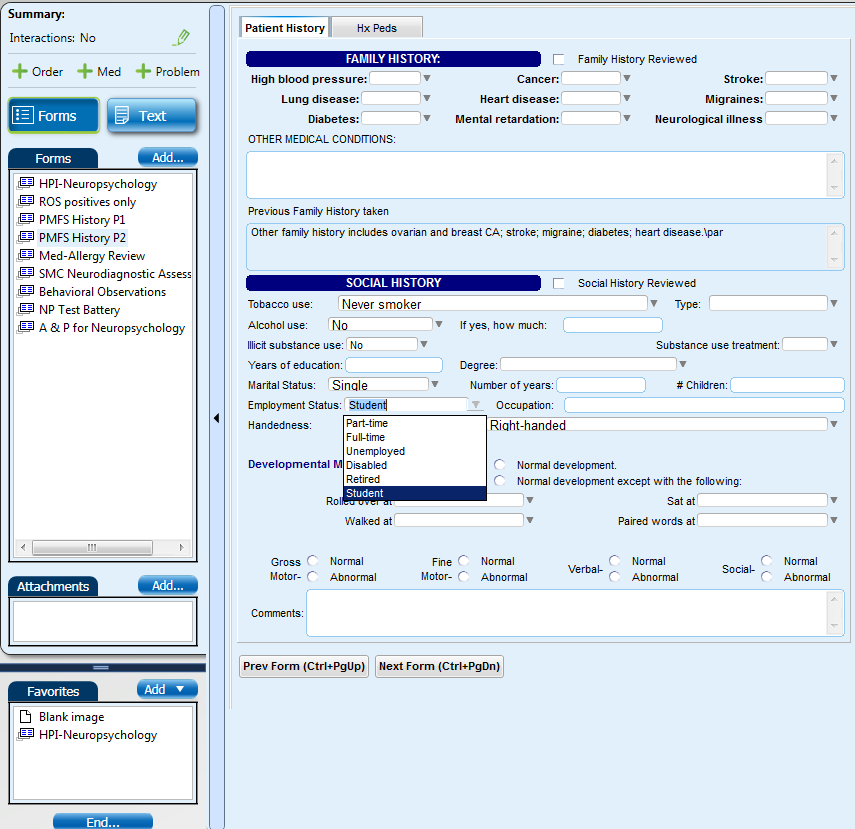 Neuropsych EMR Screen Shot #4 (Fam & Soc Hx).png