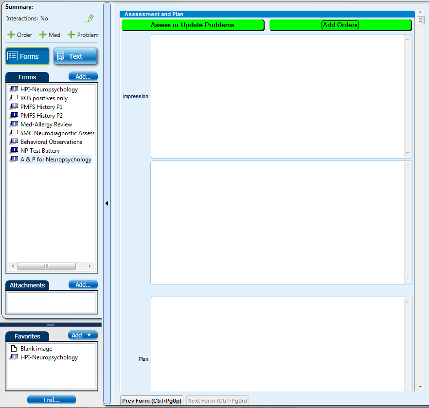 Neuropsych EMR Screen Shot #8 (Assessment & Plan).png