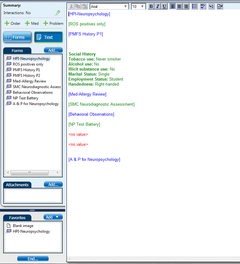 Neuropsych EMR Screen Shot #9 (Text View).png