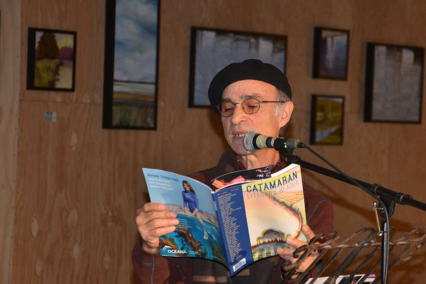"Stephen Kessler, reading from ""A Man Apart"""