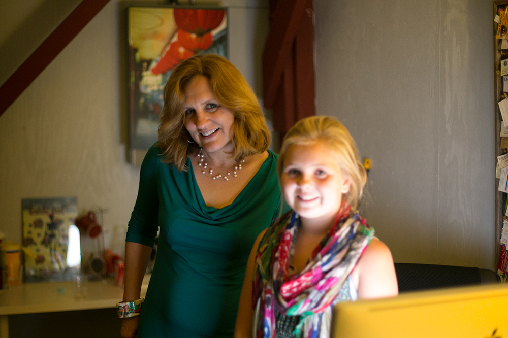 Catherine Segurson and daughter Lauren