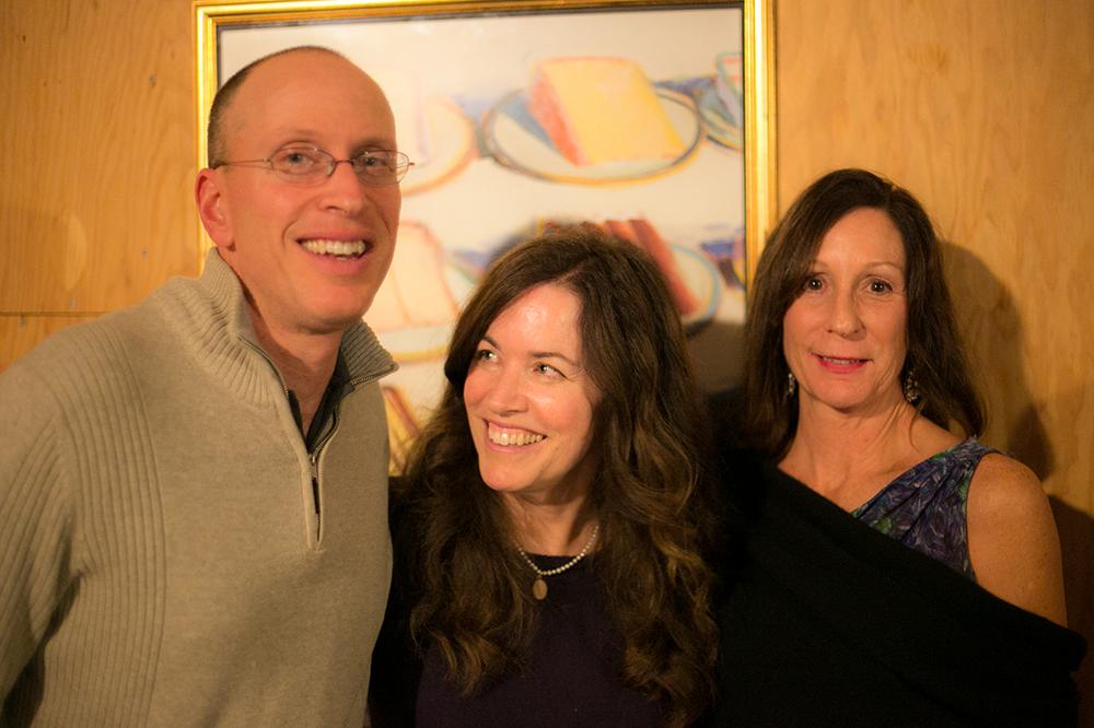 Dan White, Elizabeth McKenzie, artist Donna Bourne