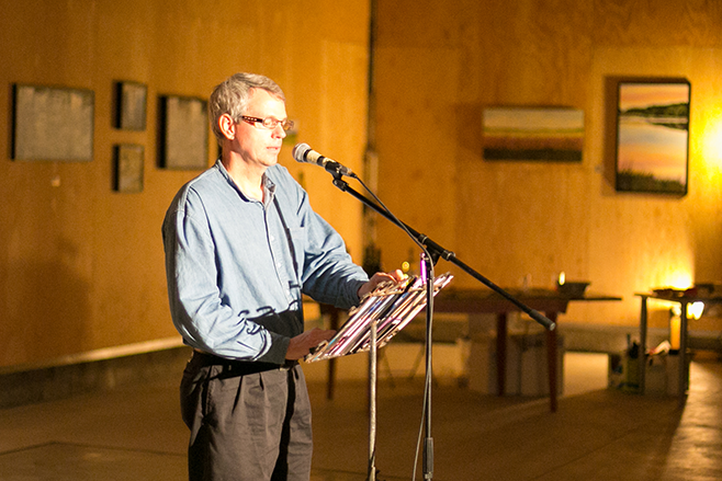 poet David Sullivan