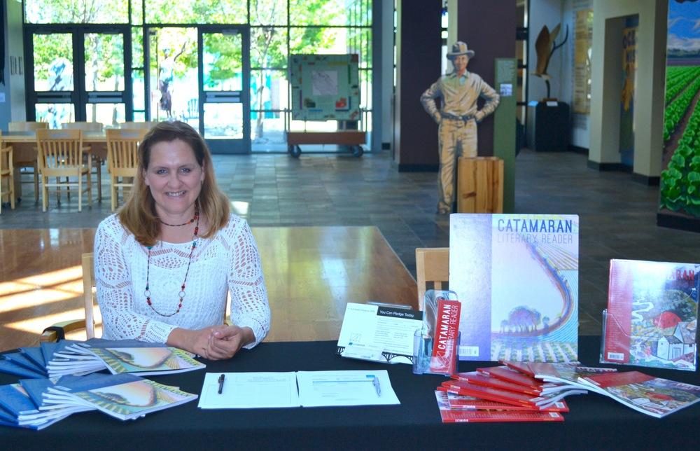 Catherine Segurson, Catamaran Founding Editor