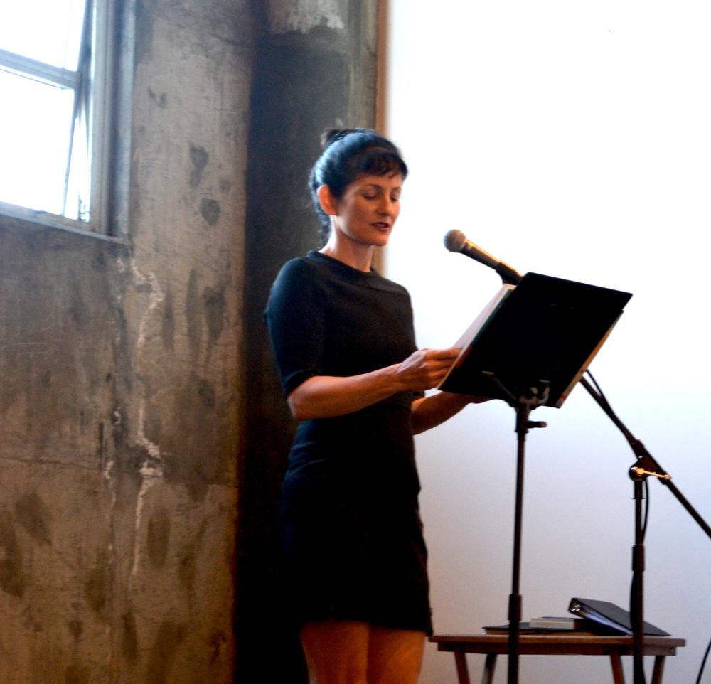 "Vanessa Blumberg, reading from ""The Botanical Gardens of Vallarta"""