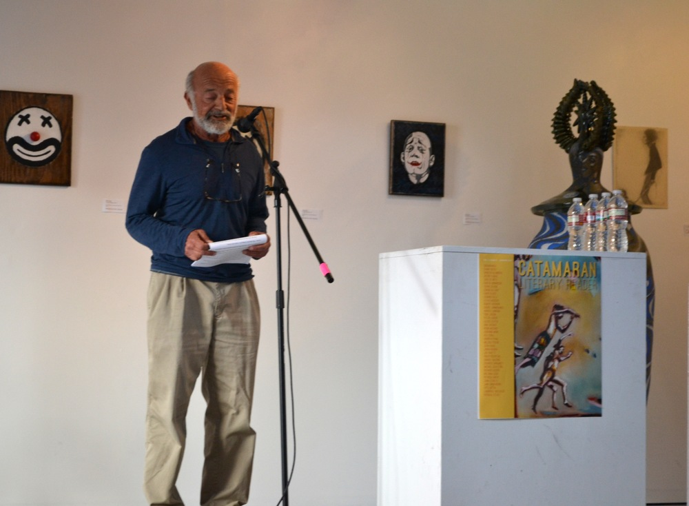 "Vito Victor, reading from ""Coming Down"""