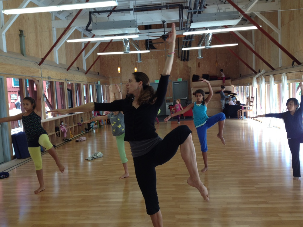 Class is in session at the Tannery World Dance Center