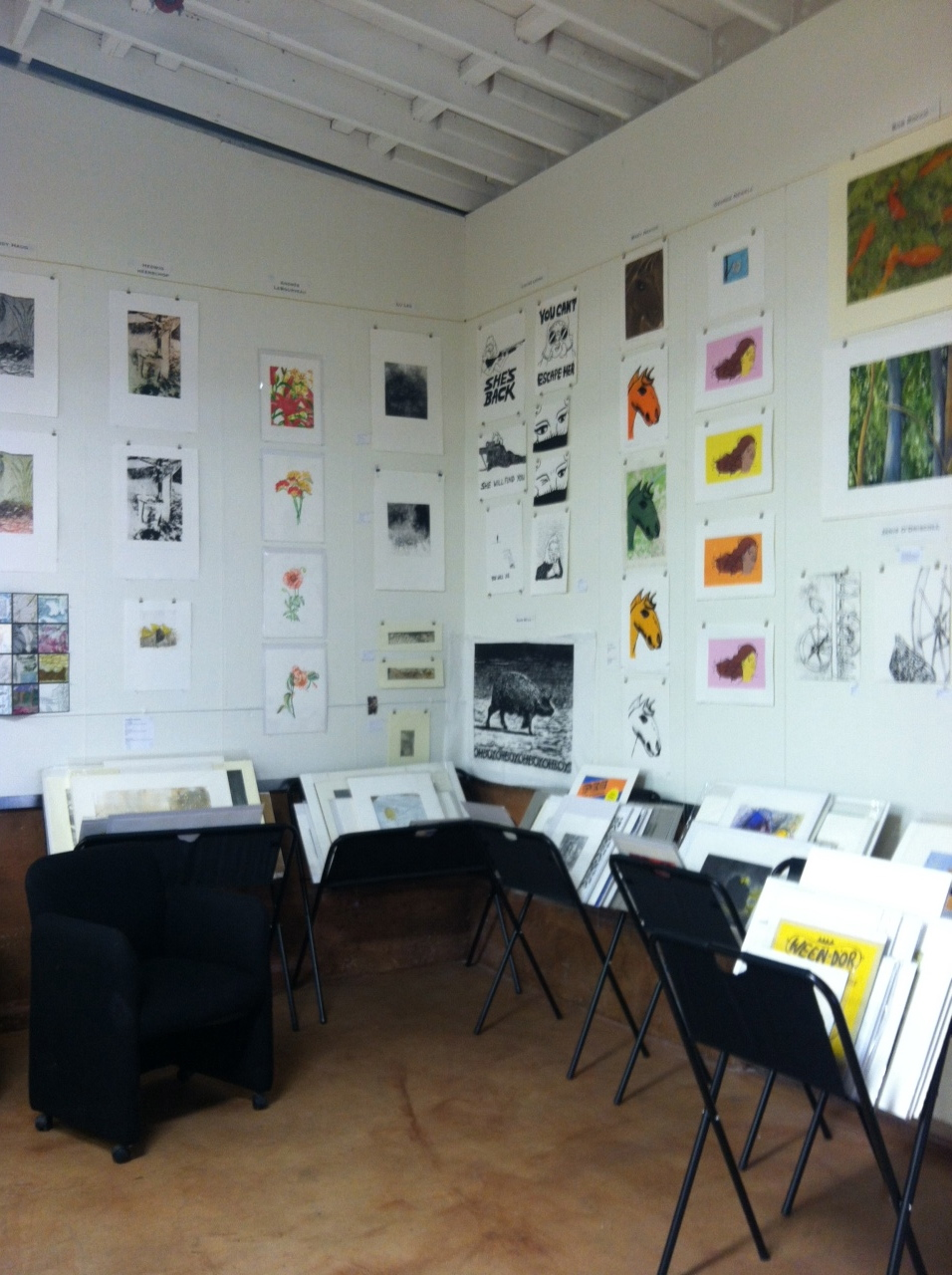 Inside view of the PATT studio.
