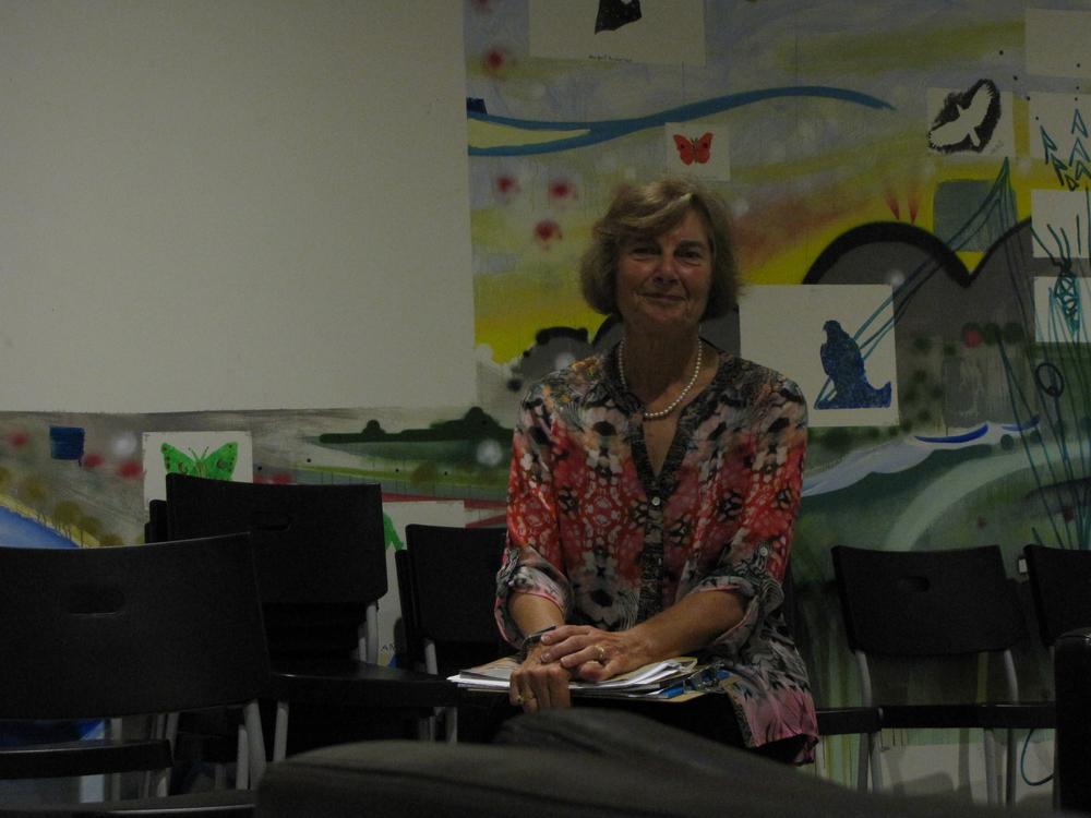Julie Minnis, moderator