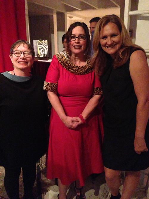 Judith Serin, Margaret Elysia Garcia, Catherine Segurson