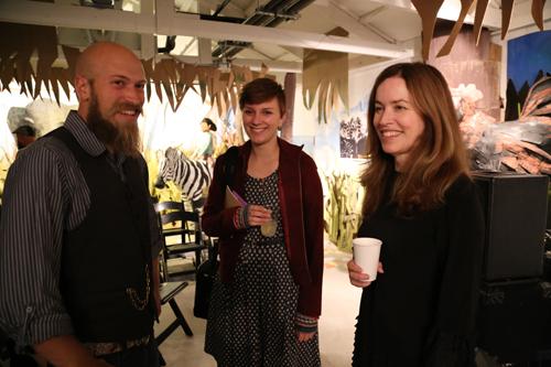Elizabeth McKenzie, Alyssa Young, Kevin Devaney