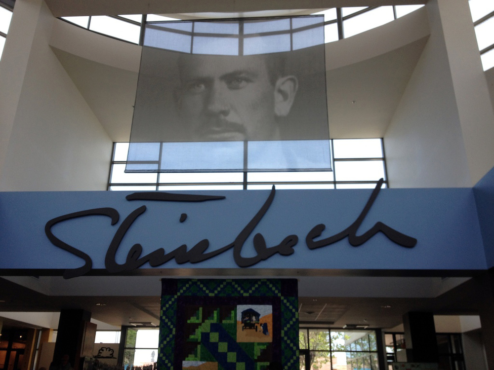 Inside the Steinbeck Center