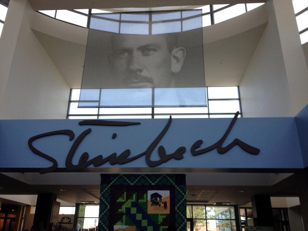 Inside the Steinbeck Center